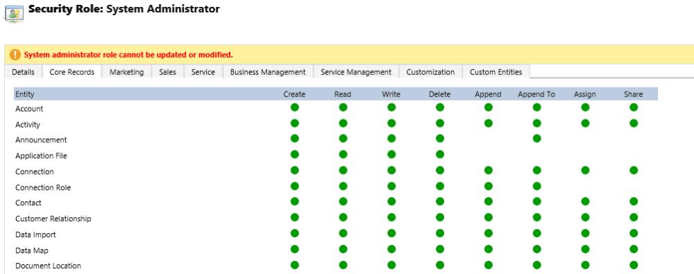 System Administrator VS System Customizer (1/2)