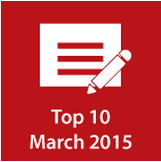 Top 10 in March 2015